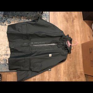 Carhartt men's rain jacket xl tall